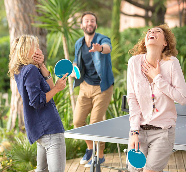ping pong famiglia
